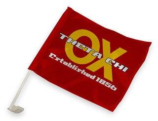 Theta Chi Car Flag