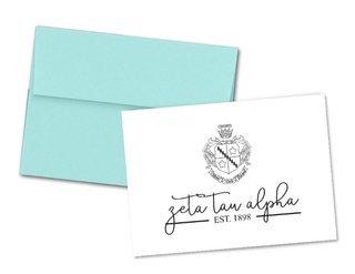 Zeta Tau Alpha Established Notecards(6)