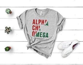Alpha Chi Omega Ripped Favorite T-Shirt