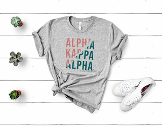Alpha Kappa Alpha Ripped Favorite T-Shirt
