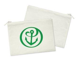 Alpha Sigma Tau Mascot Cosmetic Bag