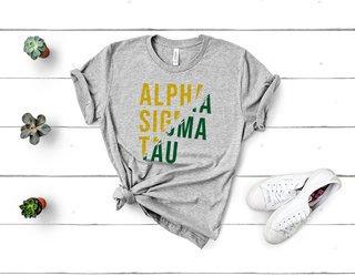Alpha Sigma Tau Ripped Favorite T-Shirt