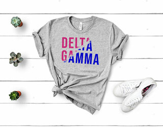 Delta Gamma Ripped Favorite T-Shirt