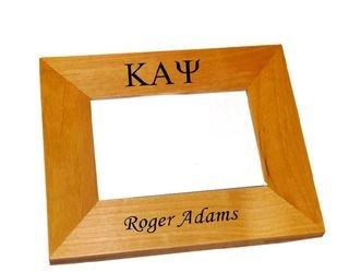 Kappa Alpha Psi Wood Picture Frame