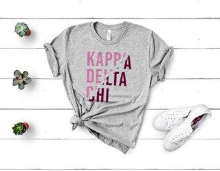 Kappa Delta Chi Ripped Favorite T-Shirt