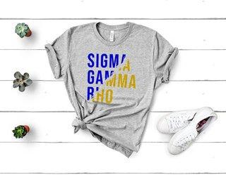 Sigma Gamma Rho Ripped Favorite T-Shirt