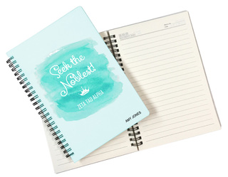 Sorority Custom Watercolor Notebooks