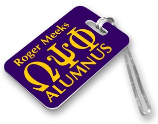 Fraternity & Sorority Alumni / Alumna Luggage Tag