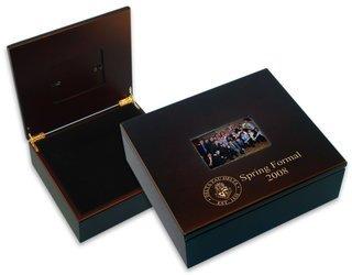 Greek Crest Treasure Box With frame