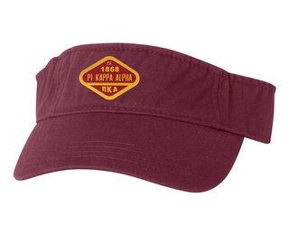 DISCOUNT-Pi Kappa Alpha Woven Emblem Heavy Visor