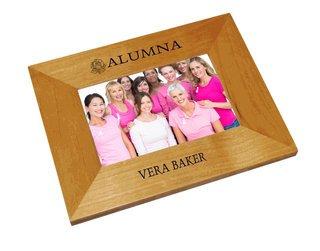 Alpha Omicron Pi Alumna Crest - Shield Frame