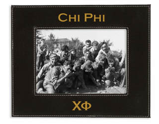 """Chi Phi 4"""" x 6"""" Leatherette Picture Frame"""