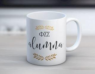 Phi Sigma Sigma Alumna Coffee Mug