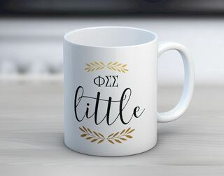 Phi Sigma Sigma Little Coffee Mug
