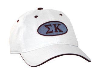 Sigma Kappa Throwback Oval Game Hat