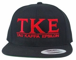 Tau Kappa Epsilon Flatbill Snapback Hats Original