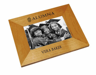 Zeta Phi Beta Alumna Crest - Shield Frame
