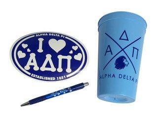 Alpha Delta Pi Sorority Medium Pack $7.50