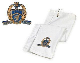 DISCOUNT-Delta Kappa Alpha Emblem Golf Towel