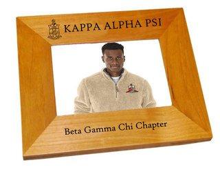 "Kappa Alpha Psi 4"" x 6"" Crest Picture Frame"