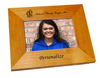National Charity League Wood Picture Frame