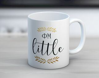 Phi Mu Little Coffee Mug