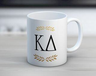 Kappa Delta Letter Coffee Mug