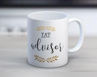 Sigma Delta Tau Advisor Coffee Mug