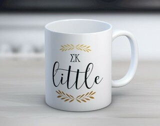 Sigma Kappa Little Coffee Mug