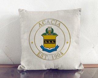 ACACIA Crest Linen Pillow