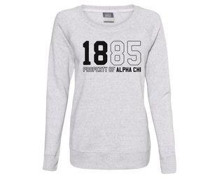 Alpha Chi Omega Established Crewneck Sweatshirt