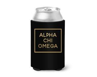 Alpha Chi Omega Gold Foil Hugger