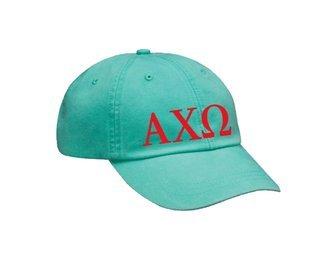 Alpha Chi Omega Letters Hat