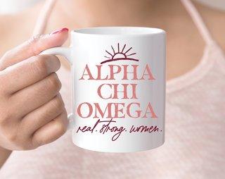 Alpha Chi Omega Sun Mug