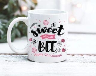 Alpha Chi Omega Sweet Bee Mug