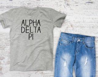 Alpha Delta Pi Campus Tee