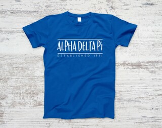Alpha Delta Pi Established Tee