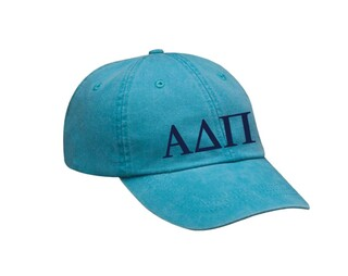 Alpha Delta Pi Letters Hat