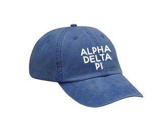 Alpha Delta Pi Simple Hat