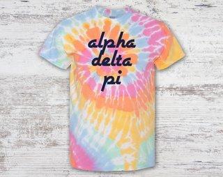 Alpha Delta Pi Tie Dye Tee