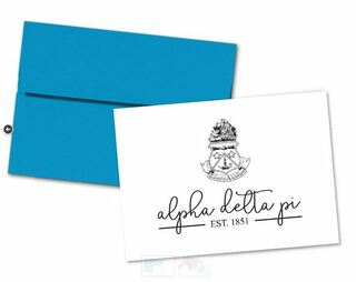 Alpha Delta Pi Established Notecards(6)