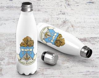 Alpha Delta Pi Crest - Shield Stainless Steel Water Bottle