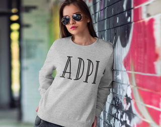 Alpha Delta Pi Inline Sweatshirt
