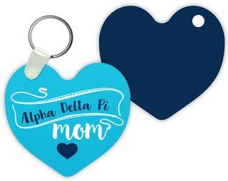 Alpha Delta Pi Mom Keychain