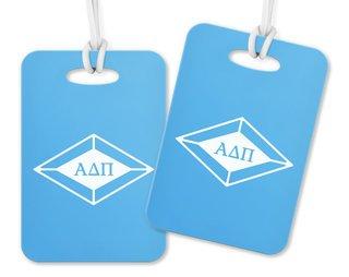 Alpha Delta Pi Diamond Luggage Tag