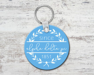 Alpha Delta Pi Since Established Keyring