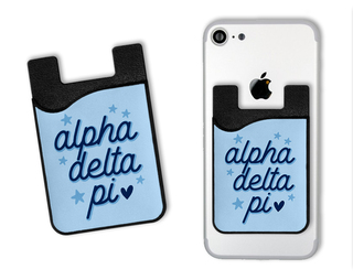 Alpha Delta Pi Star Card Caddy