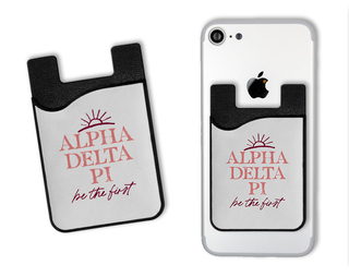 Alpha Delta Pi Sun Card Caddy