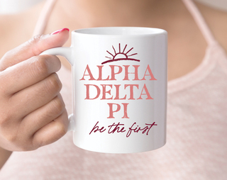 Alpha Delta Pi Sun Mug