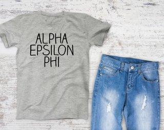 Alpha Epsilon Phi Campus Tee